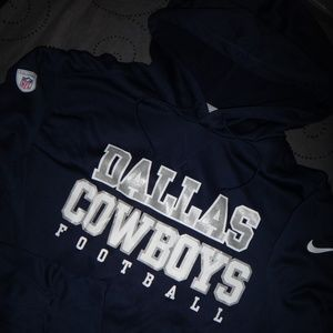 6a2692aca9d Nike Shirts | Dallas Cowboys Nfl Therma Fit Hoodie Xl L Nwt | Poshmark